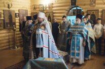 В Праздник Иверской иконы Богородицы Божественную Литургию возглавил Митрополит Костромской и Нерехтский ФЕРАПОНТ